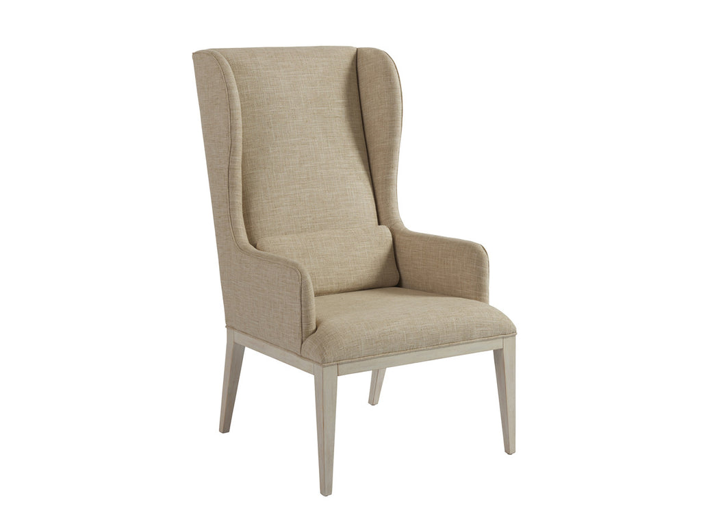 Seacliff Upholstered Host Wing Chair