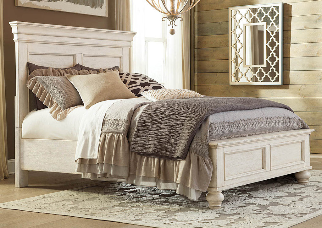 Marsilona King Panel Bed