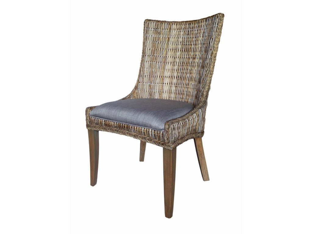 DINING CHAIR, GREY WASH