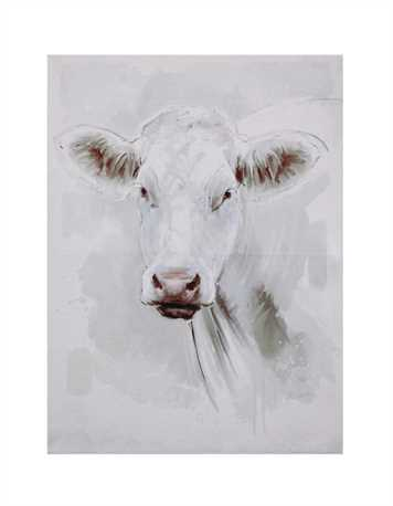 CANVAS WALL ART-COW