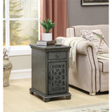 GREY 1 DRW 1 DOOR CABINET