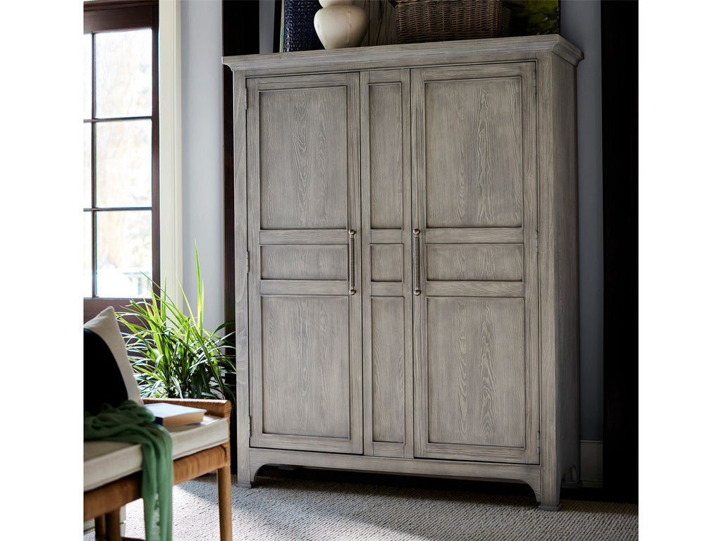 Escape-Coastal Living Home Collection Wide Utility Cabinet