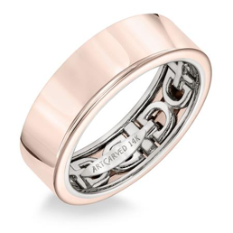 Inside Link Detail Wedding Band