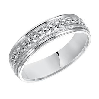 Designed Wedding Band