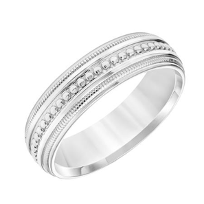 Super Milgrain Wedding Band