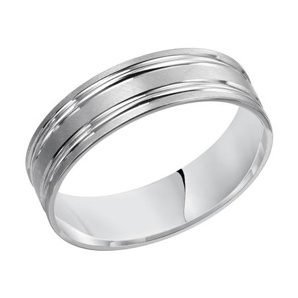Double Banded Wedding Band