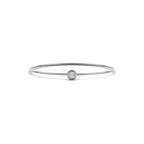 Forevermark Diamond Solitaire Bangle