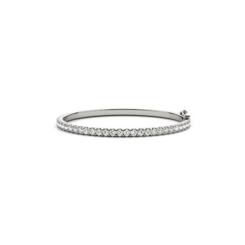 1 3/4 Diamond Stackable Bangle