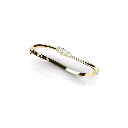 Forevermark Three Diamond Bangle