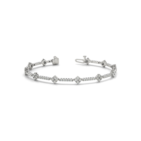 Diamond Dazzle Tennis Bracelet