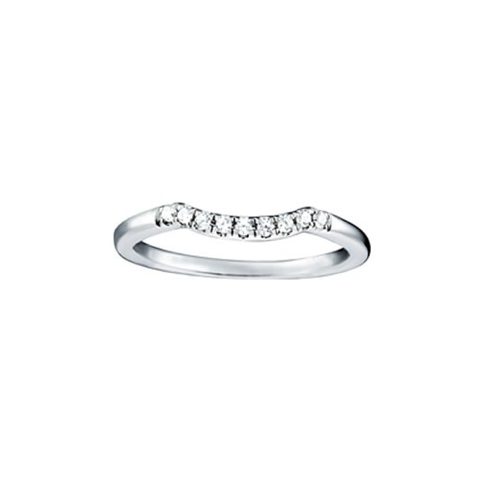 Prong Style Curved Band