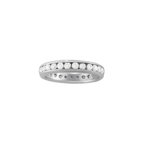 2 Carat Diamond Channel Eternity Band