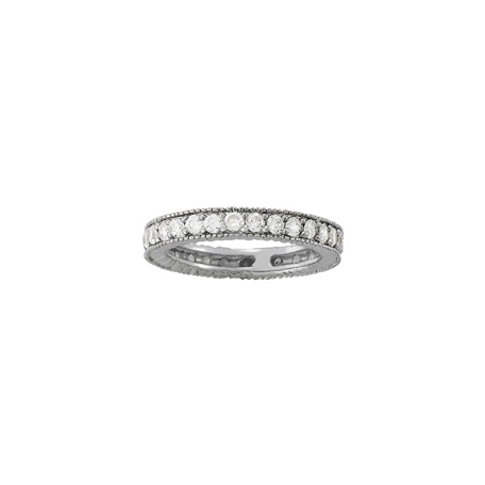 Vintage Style Eternity Band