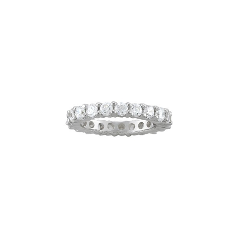 3 Carat Shared Prong Eternity Band