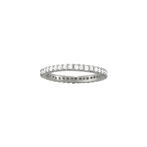 Shared Prong Eternity Band