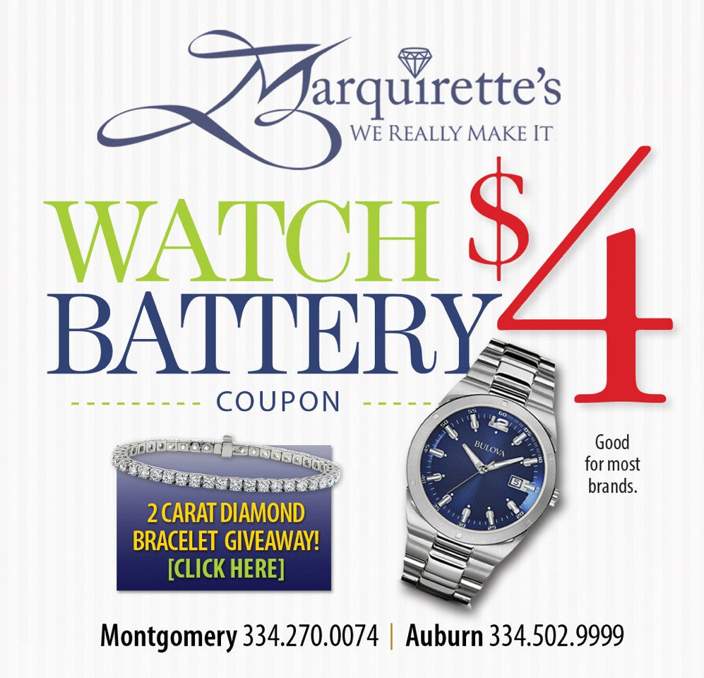 $4 Watch Battery Coupon