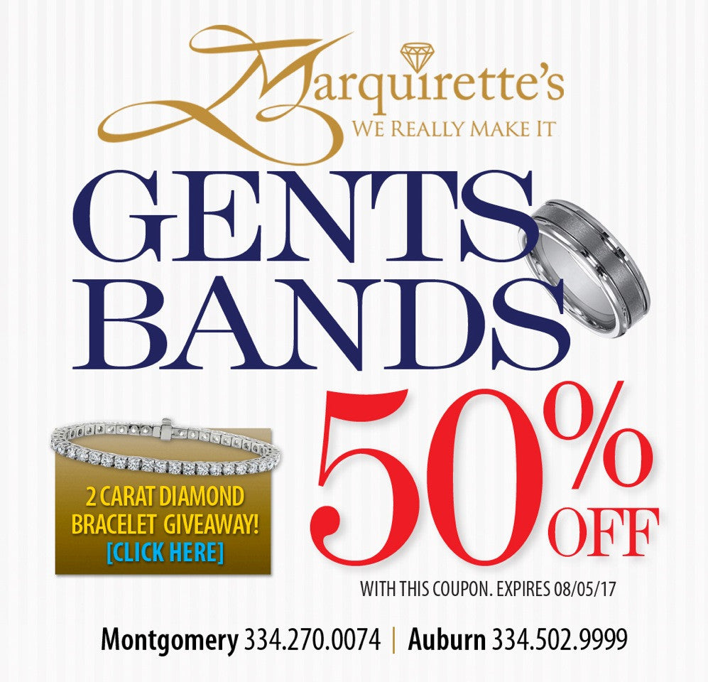 50% Off Gents Bands