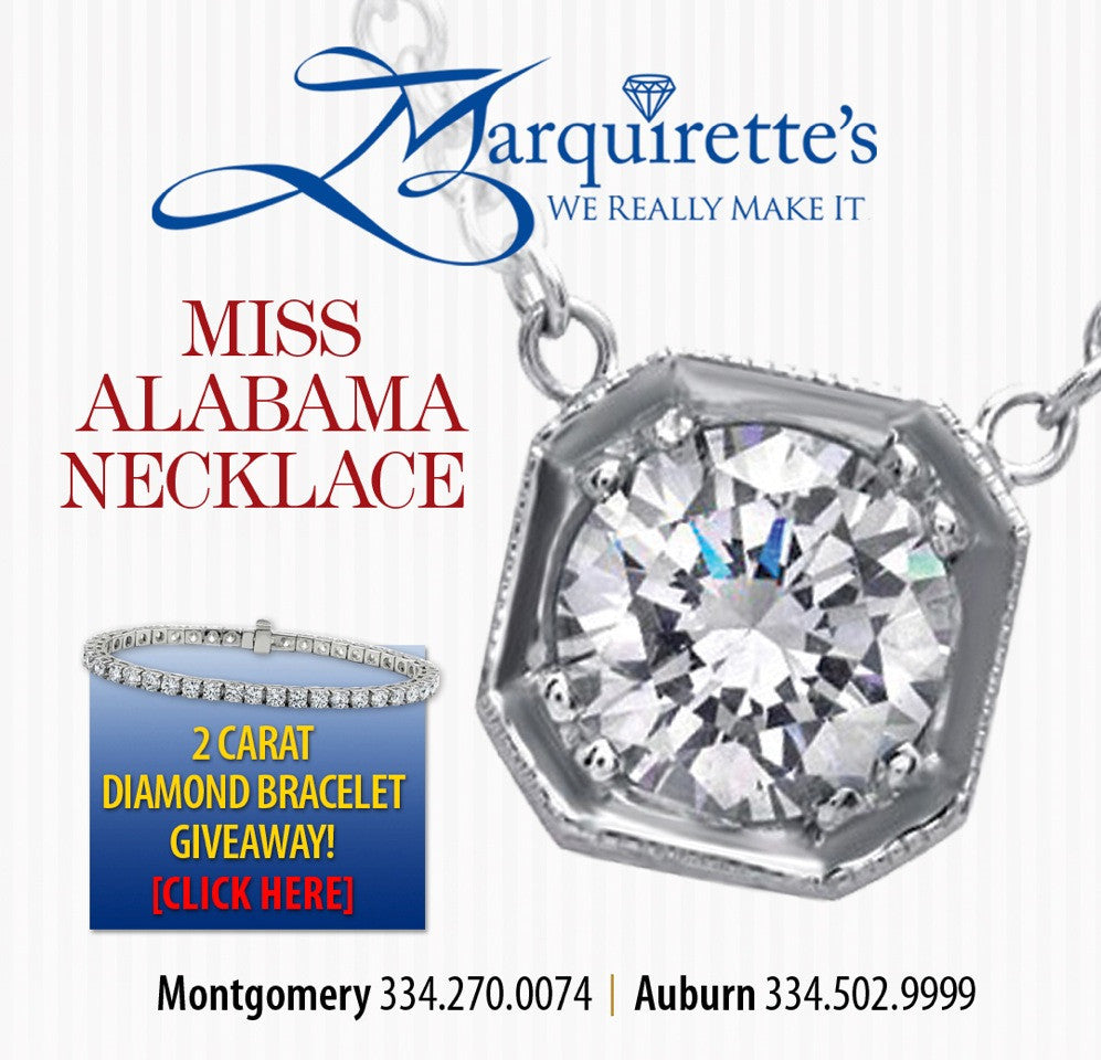 Miss Alabama Necklace