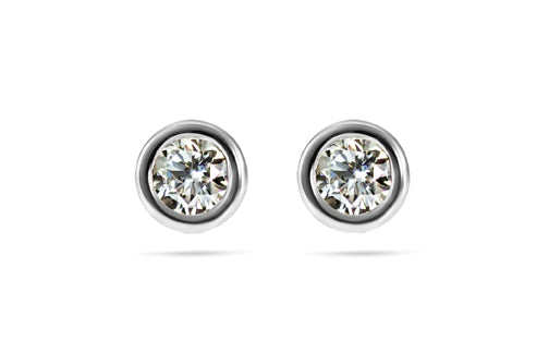 Diamond Earring Special - 14kt White Gold