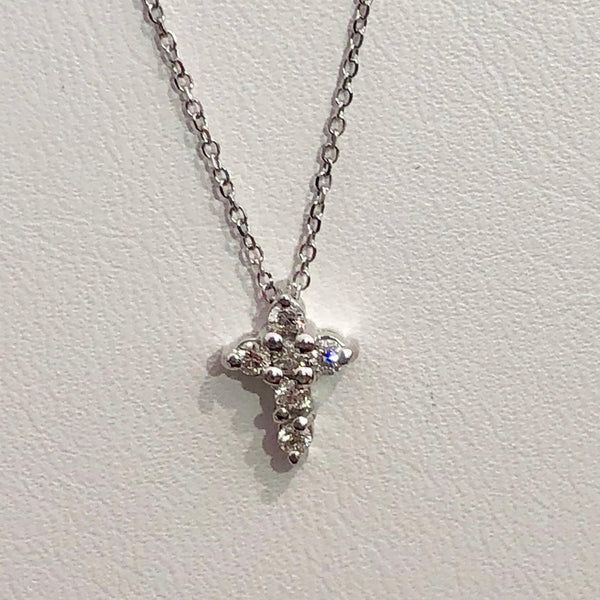 Special Diamond Cross Necklace