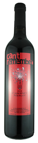 Can't Remember - 2015 BC VQA Cab Merlot
