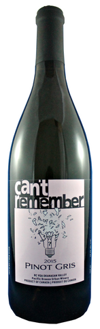 Can't Remember - 2015 BC VQA Pinot Gris