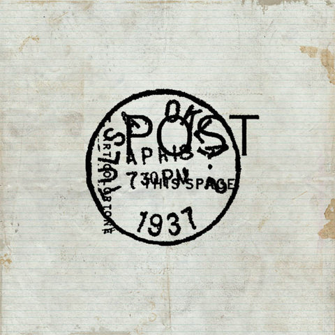 1937 Post Cling Stamp