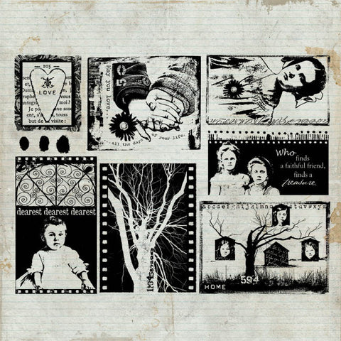 Home Rubber Stamp Sheet