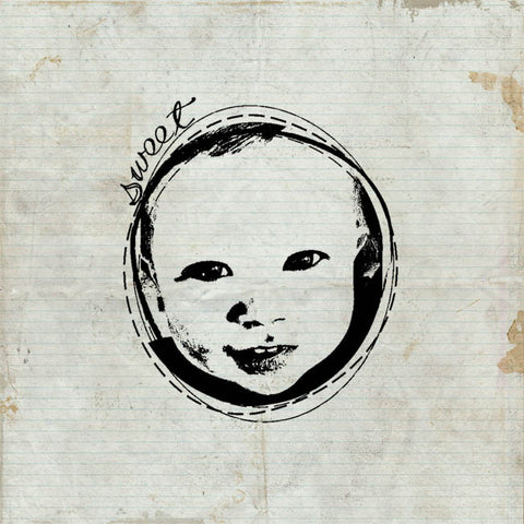 Baby Face Wood Stamp