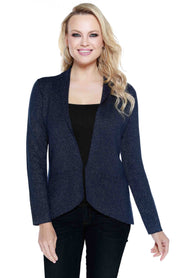 Lurex Metallic Blazer