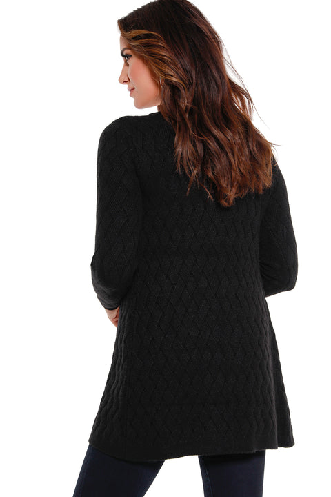 Women's Cozy Cable Knit Cardigan