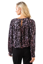 Women's Long Sleeve Winter Blossom Tunic