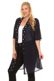 3/4 Open Duster - Plus Size