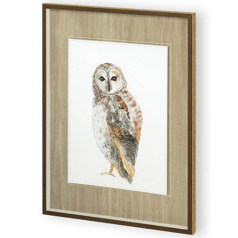 Painting of Owl I - Jordans Home