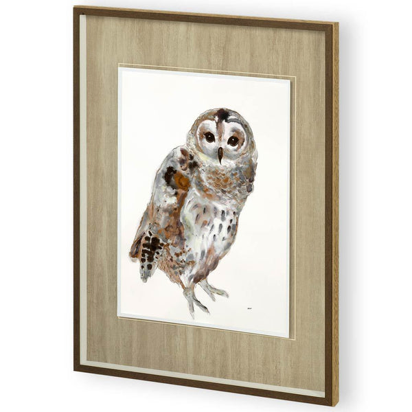 Painting of Owl II - Jordans Home