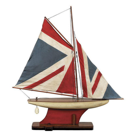 Union Jack Pond Yacht Model