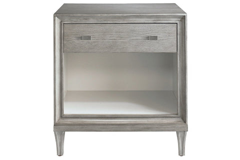 Presidio Bedside Cabinet  - Cloud Grey  | Night Stand | Jordans Home