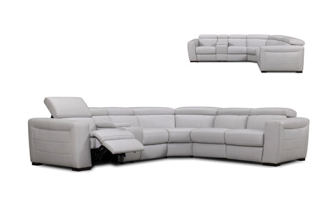 Upholstered 6-Piece Sectional - Jordans Home