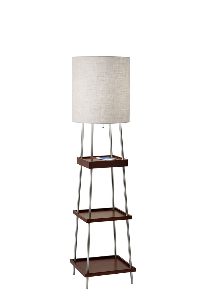 Henry Adessco Charge Shelf Floor Lamp