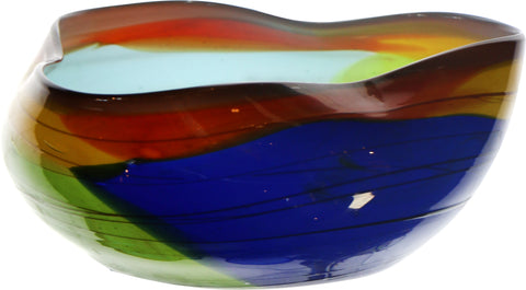 Clover Salad Bowl - Multi Color - Jordans Home