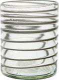 Short Spiral Glass