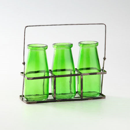 Green Glass Accessory - Jordans Home