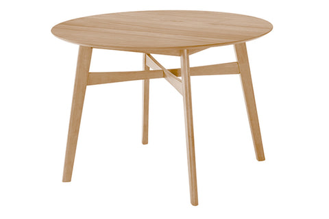 "Simplicity 42"" Round Dining Table - Jordans Home"