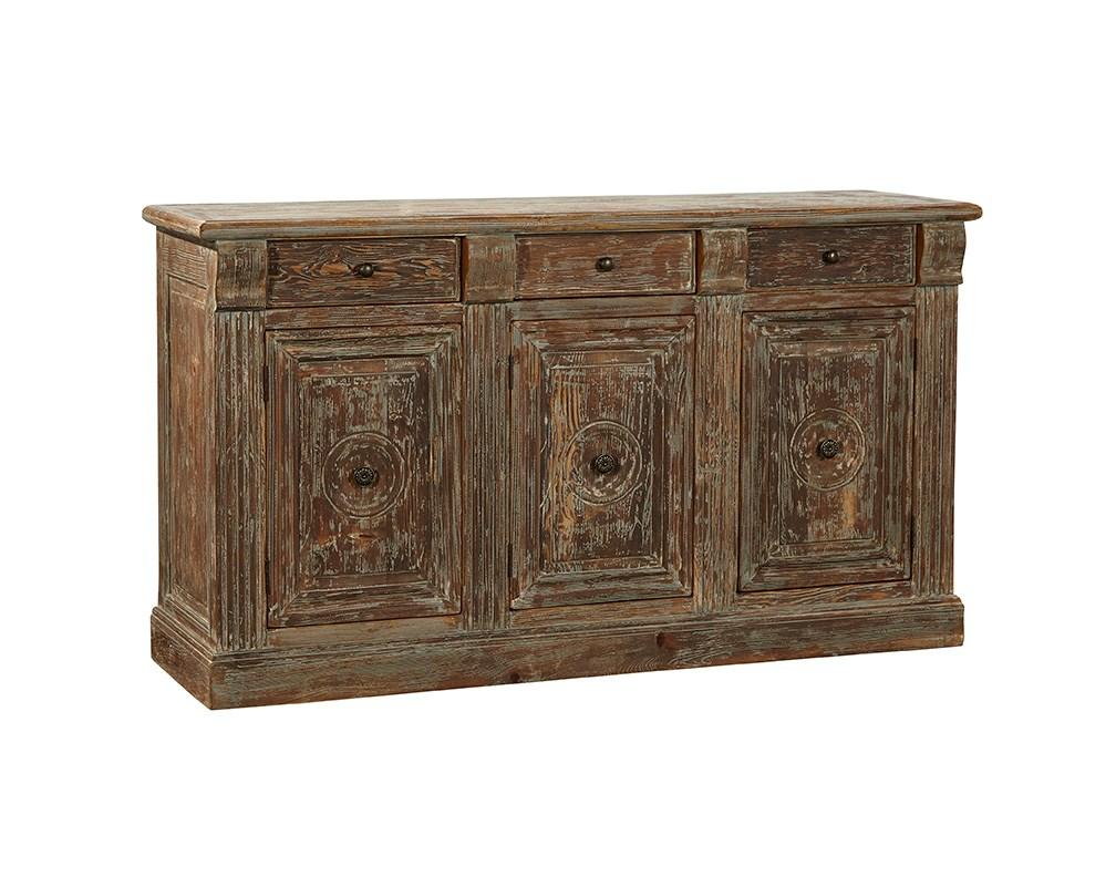 Washed Blue Sideboard - Jordans Home