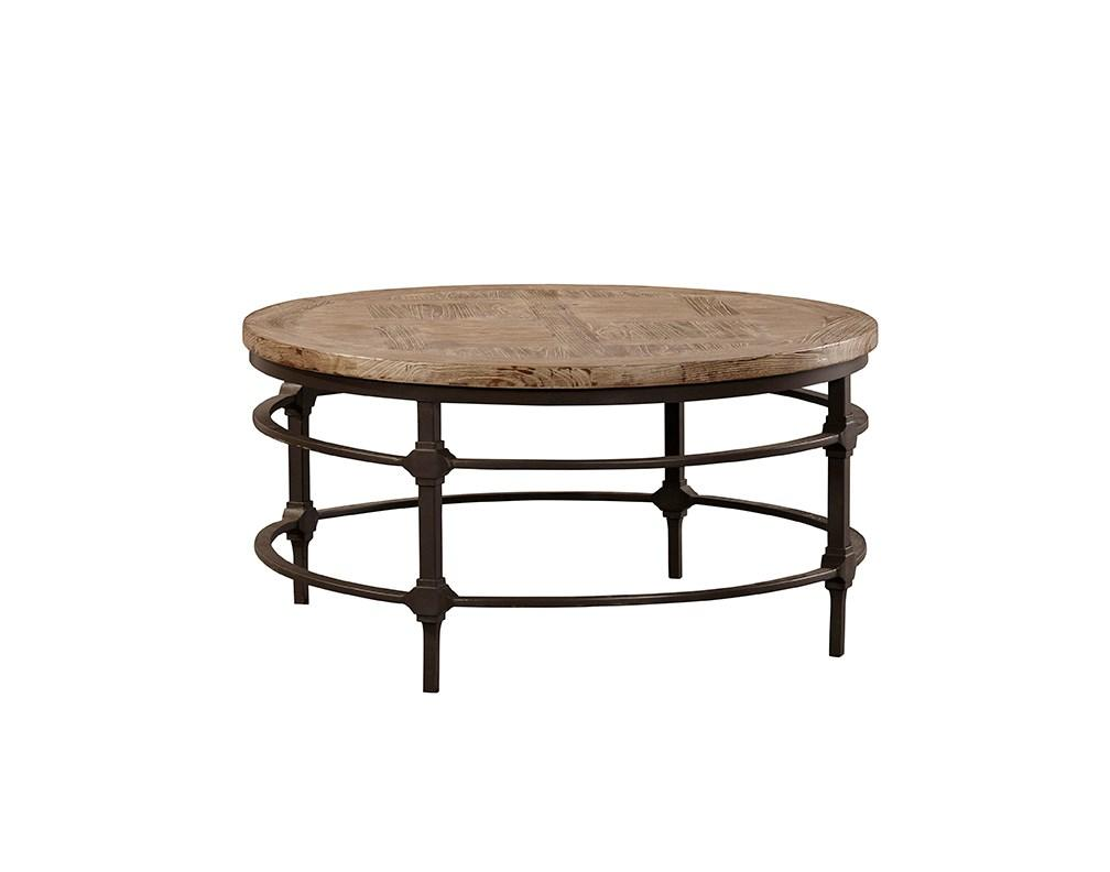 Coldiron Round Coffee Table - Jordans Home