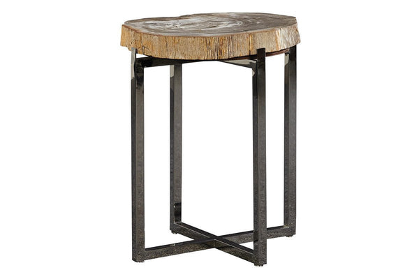 Fossil Stone End Table - Jordans Home
