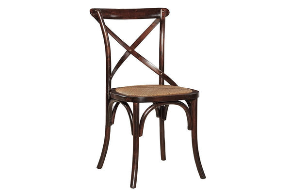Bentwood Side Chair - Brown - Jordans Home