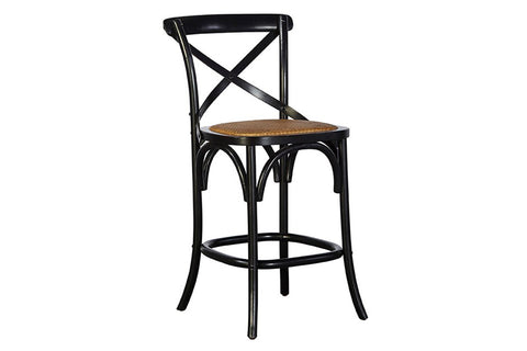 Bentwood Counter Stool - Black  | Bar Stool | Jordans Home