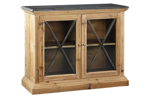 Old Stone Top Cabinet  | Accent Furniture | Jordans Home