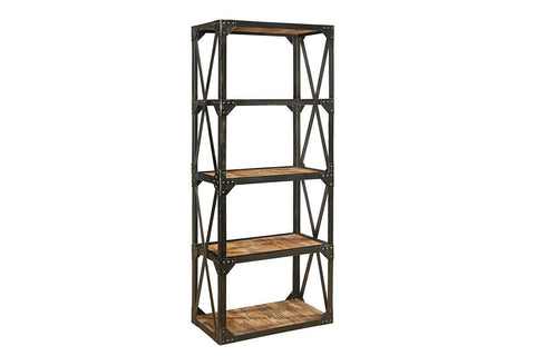 Bleecker Recycled Narrow Bookcase  | Shelves | Jordans Home